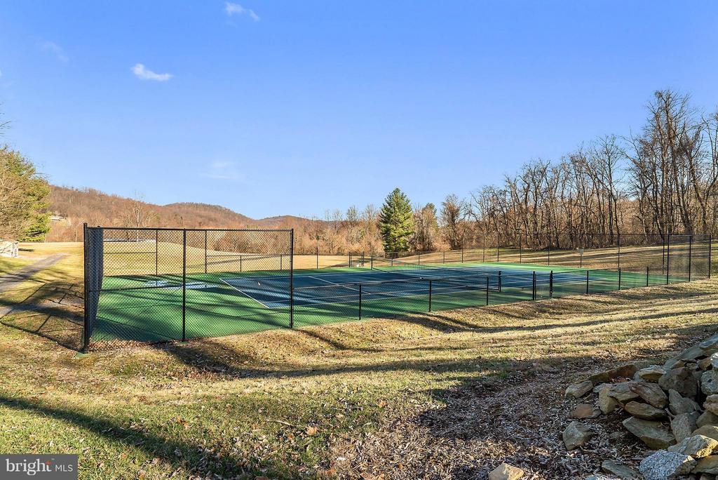 Tennis Court - 12494 MOSS HOLLOW RD, MARKHAM