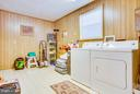 Laundry Room - 110 SHENANDOAH LN, STAFFORD