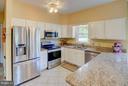 Sunny and bright kitchen - 35086 HARRY BYRD HWY, ROUND HILL