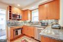 Kitchen - 7013 EXFAIR RD, BETHESDA