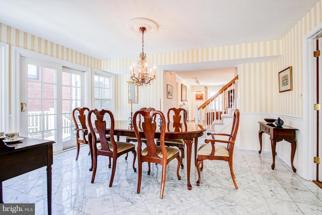 Dining Room - 7013 EXFAIR RD, BETHESDA