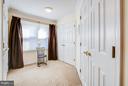 Master dressing area - 7013 EXFAIR RD, BETHESDA