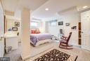 Lower Level guest room - 7013 EXFAIR RD, BETHESDA