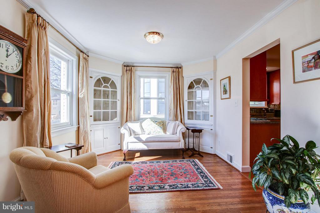 Living Room - 7013 EXFAIR RD, BETHESDA