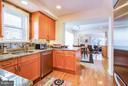 Updated Kitchen - 7013 EXFAIR RD, BETHESDA