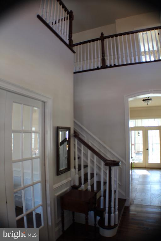 VIEW FROM FOYER - 20970 STEPTOE HILL RD, MIDDLEBURG