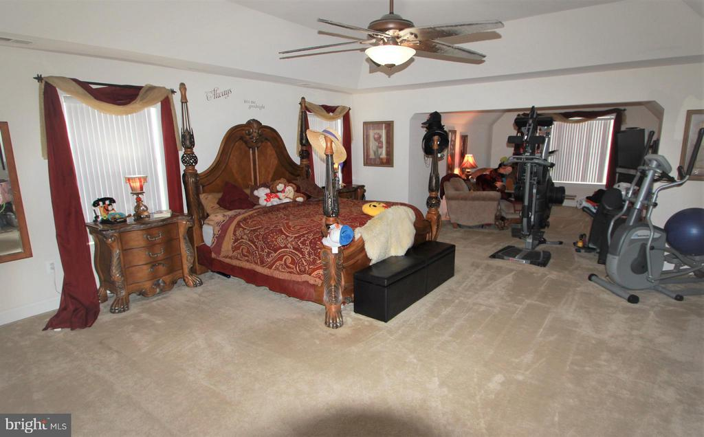 Master Suite with Sitting Room - 91 MT HOPE CHURCH RD, STAFFORD