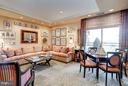 Family Room with Balcony  access - 5630 WISCONSIN AVE AVE #1403, CHEVY CHASE