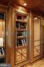 Millwork in Library - 5630 WISCONSIN AVE AVE #1403, CHEVY CHASE