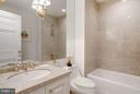 Ensuite Guest Bathroom - 5630 WISCONSIN AVE AVE #1403, CHEVY CHASE