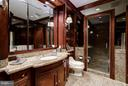 Master Bathroom # 1 - 5630 WISCONSIN AVE AVE #1403, CHEVY CHASE