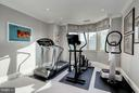 Exercise Room in Master Bedroom Suite - 5630 WISCONSIN AVE AVE #1403, CHEVY CHASE