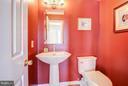 Powder Room - 7013 EXFAIR RD, BETHESDA