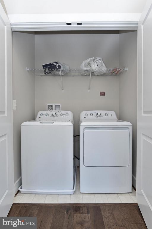 Washer & Dryer on Bedroom Level - 6103 OLIVET DR, ALEXANDRIA