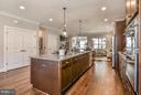 Quartz Counters & Hardwood Flooring Thru-out - 6103 OLIVET DR, ALEXANDRIA