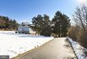 View from Thomas Mill Rd - 39877 THOMAS MILL RD, LEESBURG