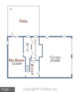 Basement Floor Plan - 39877 THOMAS MILL RD, LEESBURG