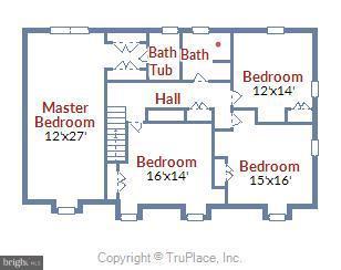 2nd Story Floor Plan - 39877 THOMAS MILL RD, LEESBURG