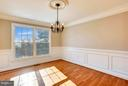 Light filled Dinning Room - 39877 THOMAS MILL RD, LEESBURG