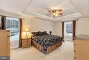 Dreamy master suite with tray ceiling - 57 APPLEJACK, HARPERS FERRY
