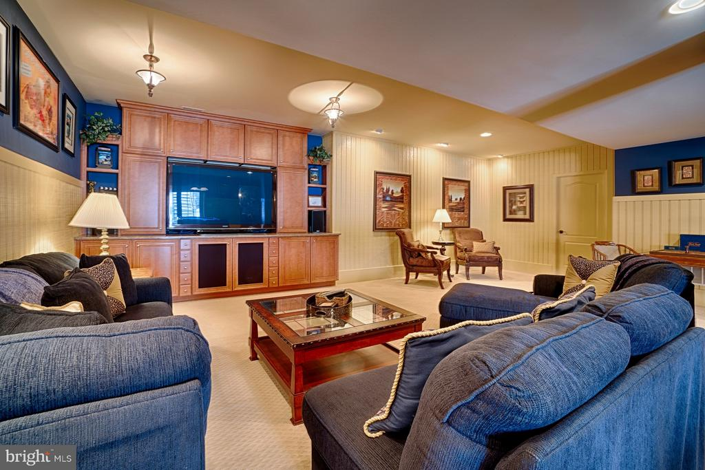 Theater area - 14786 BANKFIELD DR, WATERFORD