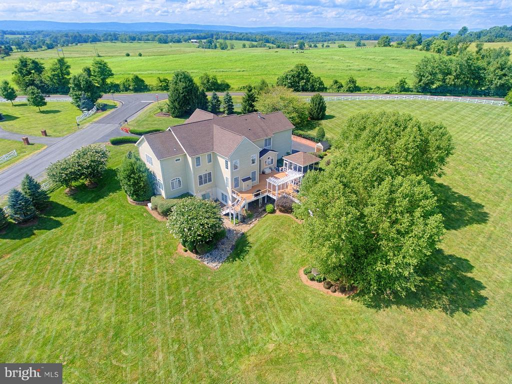 Rear View - 14786 BANKFIELD DR, WATERFORD