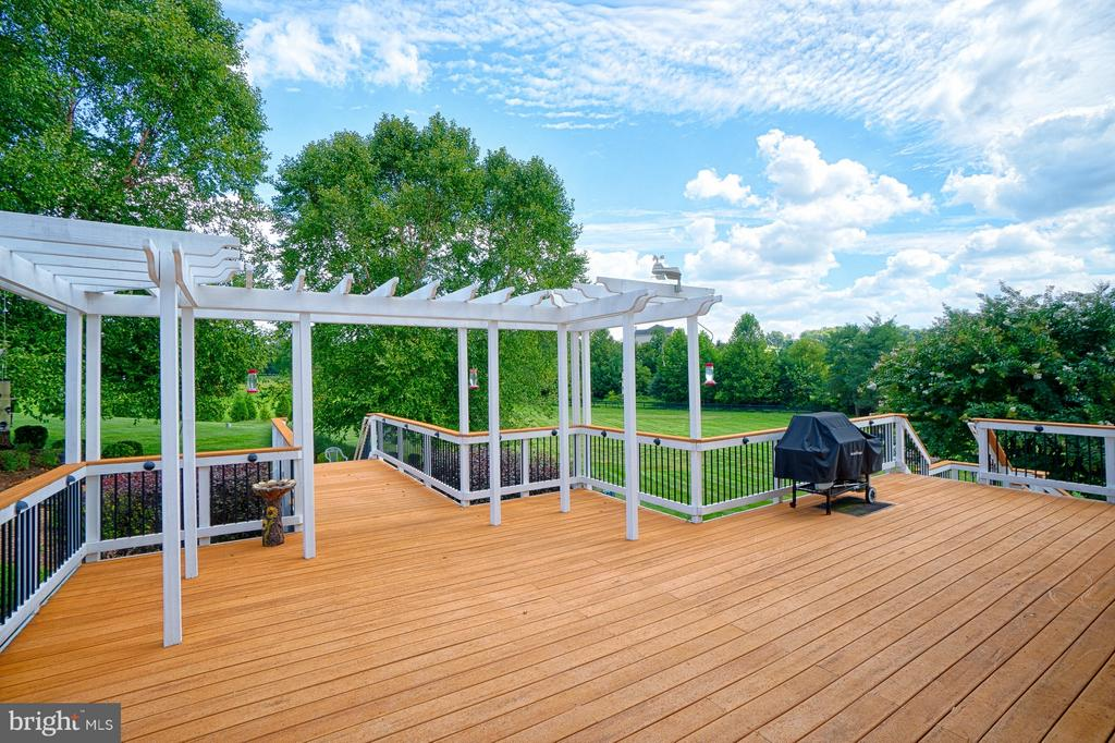 View of back deck - 14786 BANKFIELD DR, WATERFORD