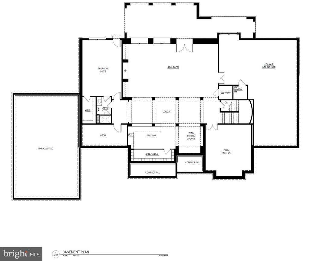 Basement Floorplan - 22469 CREIGHTON FARMS DR, LEESBURG