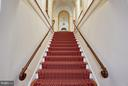 Grand stairway to main living area - 2019 Q ST NW, WASHINGTON