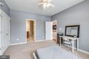 The third bedroom suite with private bathroom. - 21584 BURNT HICKORY CT, BROADLANDS