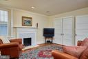 Family room and former bedroom - 2019 Q ST NW, WASHINGTON