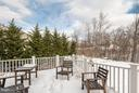 Deck has room for dining. - 21584 BURNT HICKORY CT, BROADLANDS