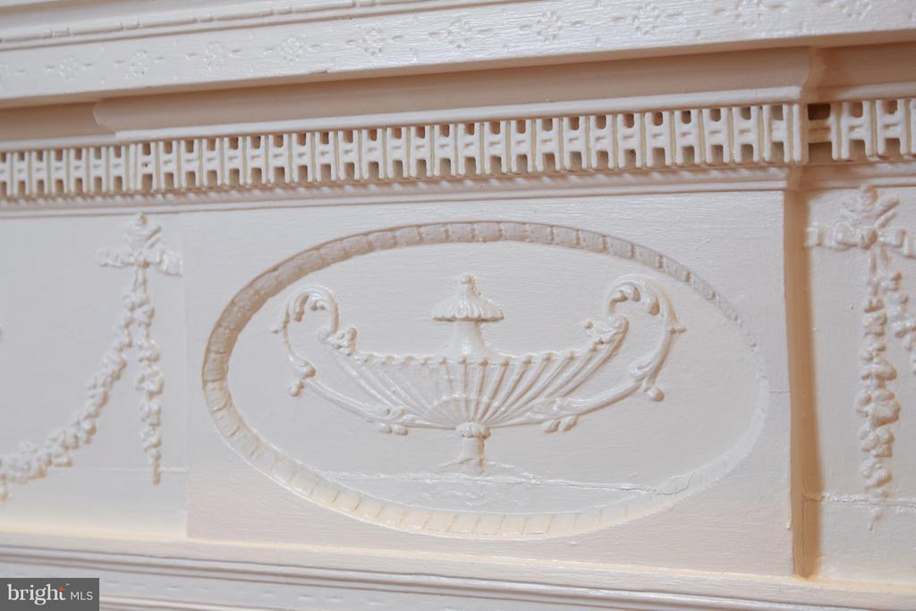 Fireplace Mantle detail - 2019 Q ST NW, WASHINGTON