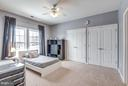 Desirable double closet! - 21584 BURNT HICKORY CT, BROADLANDS