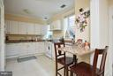 Apartment Kitchen with counter bar - 2019 Q ST NW, WASHINGTON