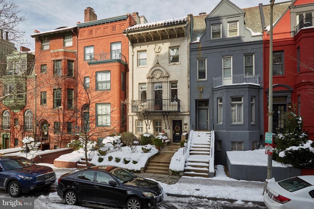 Street scene - 2019 Q ST NW, WASHINGTON