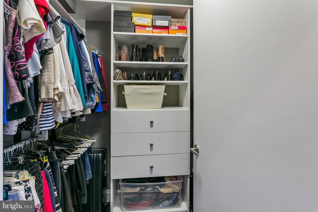 Walk in closet - 1881 N NASH ST #704, ARLINGTON