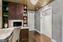 Built in desk space - 1881 N NASH ST #704, ARLINGTON