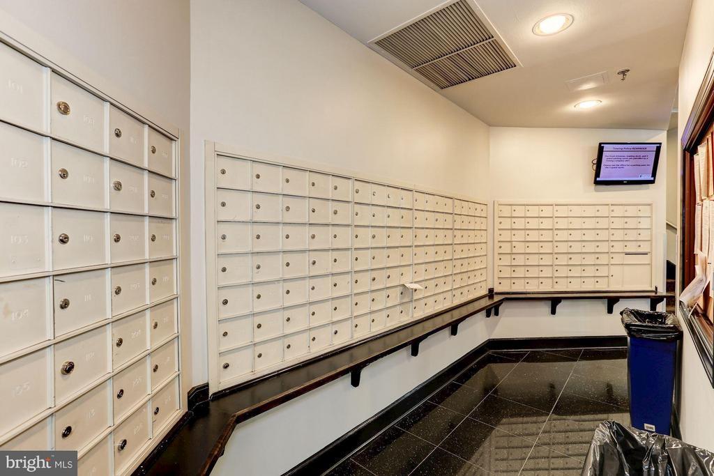 Mailbox Area - 1001 N RANDOLPH ST #106, ARLINGTON