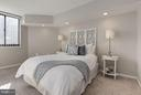 Bedroom - Upgraded Recessed Lighting! - 1001 N RANDOLPH ST #106, ARLINGTON