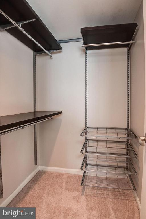 Walk-In Closet in Bedroom - 1001 N RANDOLPH ST #106, ARLINGTON