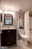 Bathroom - Upgraded Vanity, Counter, Mirror, Tile - 1001 N RANDOLPH ST #106, ARLINGTON