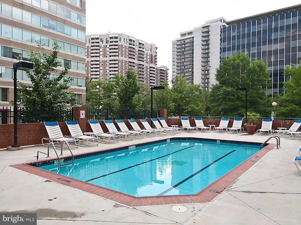 Community Pool and Sun Deck - 1001 N RANDOLPH ST #106, ARLINGTON