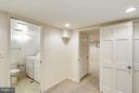 View from Den to En-Suite Bath and Laundry Area. - 3246 S UTAH ST, ARLINGTON