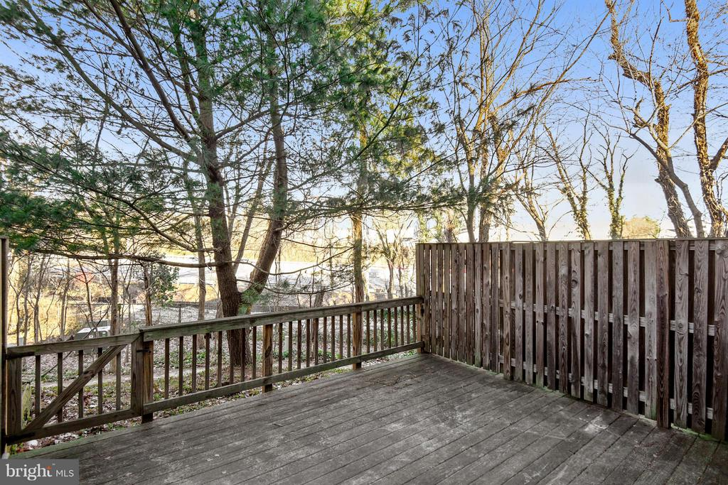 Let's take another look at this fantastic deck! - 3246 S UTAH ST, ARLINGTON