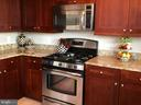 Large Kitchen perfect for entertaining - 11990 MARKET ST #405, RESTON