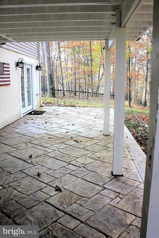 Fabulous patio for outdoor  relaxaxation. - 57 APPLEJACK, HARPERS FERRY