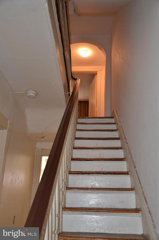 Stairway to 2nd level - 906 S ST NW, WASHINGTON
