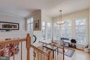 Sun-room with  amazing view of treed common area - 1644 CHICKASAW PL NE, LEESBURG