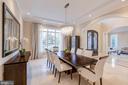 Main Level - Dining Room - 8459 PORTLAND PL, MCLEAN